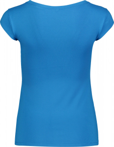 Tricou dama Nordblanc NEST viscose elastan Blue skyline1