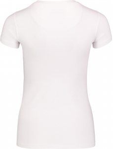 Tricou dama Nordblanc RAINBOW supersoft elastan White1