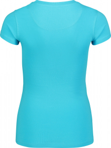 Tricou dama Nordblanc RAINBOW supersoft elastan Ice blue1