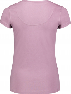Tricou dama Nordblanc RATTLE cotton Pink clay1