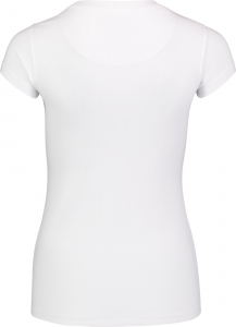 Tricou dama Nordblanc RETRO supersoft elastan White1