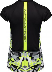 Tricou ciclism dama Nordblanc SEDUCE dryfor bike jersey Black1