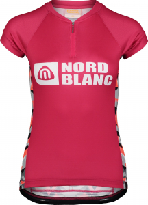 Tricou ciclism dama Nordblanc SEDUCE dryfor bike jersey Air pink0