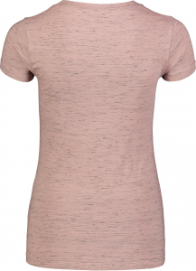 Tricou dama Nordblanc W CONIFER cotton Dusty pink1