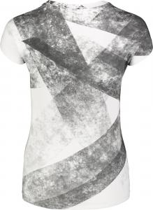 Tricou dama Nordblanc W GRANITE elastic White [2]