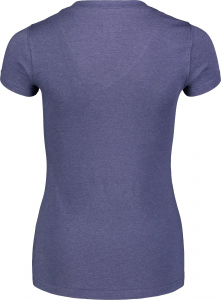 Tricou dama Nordblanc W CONIFER cotton Lovely blue2