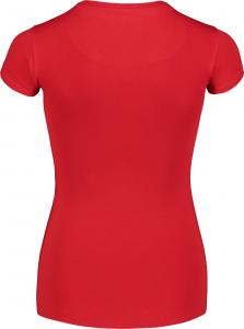 Tricou dama Nordblanc W DILATE rosu1