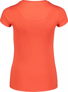 Tricou dama Nordblanc W FRONTAL orange1