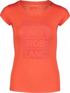 Tricou dama Nordblanc W DYE orange0