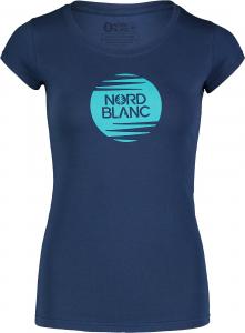 Tricou dama Nordblanc W NOTCH albastru0