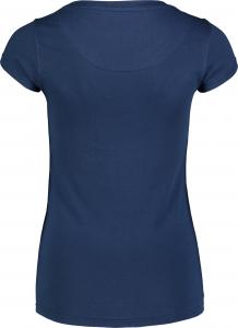 Tricou dama Nordblanc W NOTCH albastru1