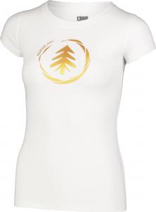 Tricou dama Nordblanc W MEDAL cotton White1