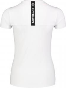 Tricou dama Nordblanc W UNIFY fitness White2