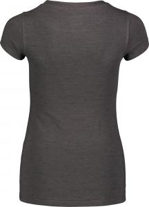 Tricou dama Nordblanc W MEDAL cotton Graphite melange2