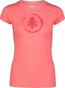 Tricou dama Nordblanc W MEDAL cotton Red coral0