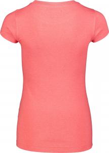 Tricou dama Nordblanc W MEDAL cotton Red coral2