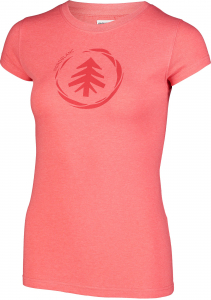Tricou dama Nordblanc W MEDAL cotton Red coral1