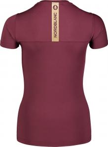 Tricou dama Nordblanc W UNIFY fitness Fip violet2