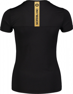 Tricou dama Nordblanc W UNIFY fitness Black2