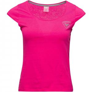 Tricou dama W ROSSIGNOL Pink fuchsia3