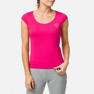 Tricou dama W ROSSIGNOL Pink fuchsia0