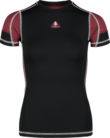 Tricou Femei Nordblanc FOLD WINTER BASELAYER black [0]