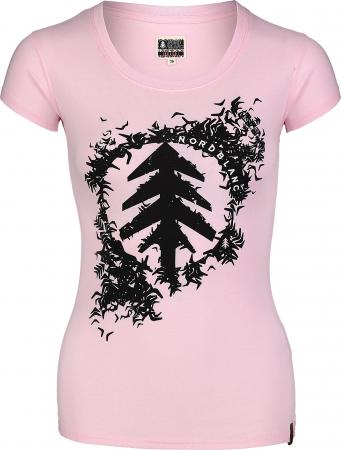 Tricou Femei Nordblanc FLOCK Roz [0]