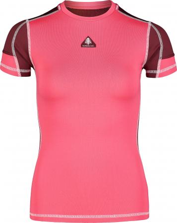 Tricou Femei Nordblanc FOLD WINTER BASELAYER soft pink [0]