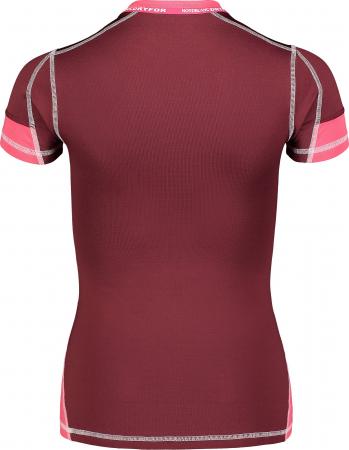 Tricou Femei Nordblanc FOLD WINTER BASELAYER soft pink [2]
