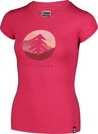 Tricou Femei Nordblanc SUNTRE Roz [1]