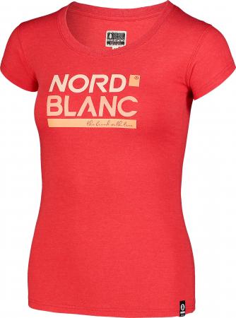 Tricou Femei Nordblanc YNUD Rosu [1]