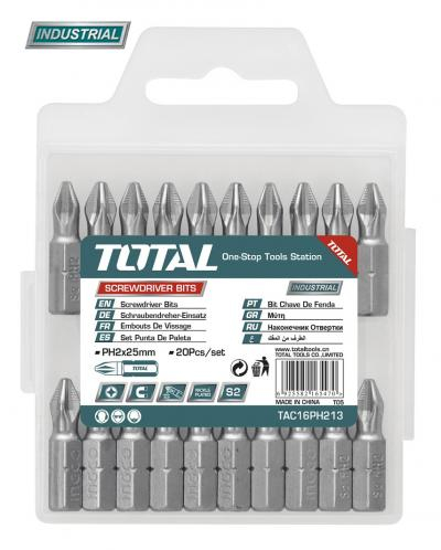 Bit Total - PZ2.25mm, 20 buc / set (INDUSTRIAL) Total [0]