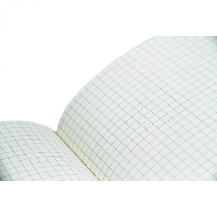 Agenda A5 ASH neagra, 96 de pagini cu coperta din piele ecologica [5]