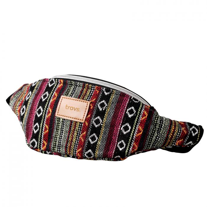 Borseta AMED colorata din material textil cu doua buzunare [0]