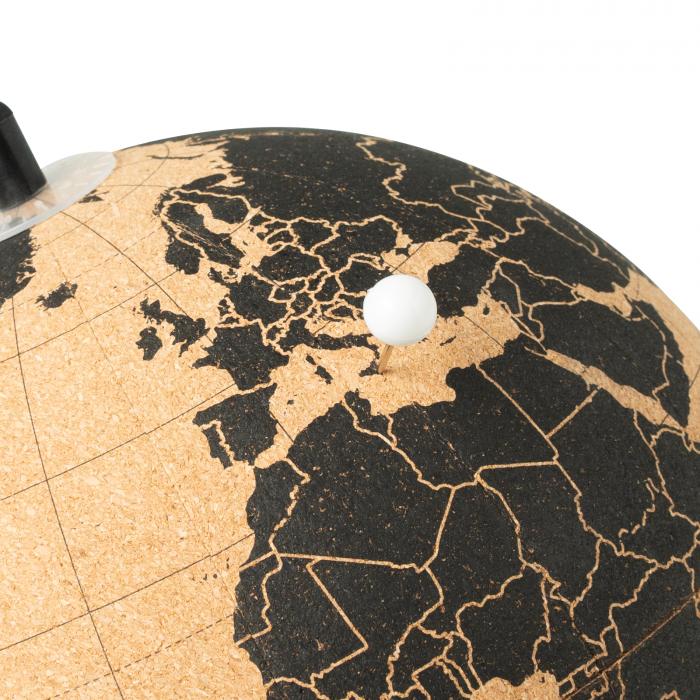 Glob pamantesc JOURNEY din pluta cu 12 pioneze pentru a marca tarile dorite [3]