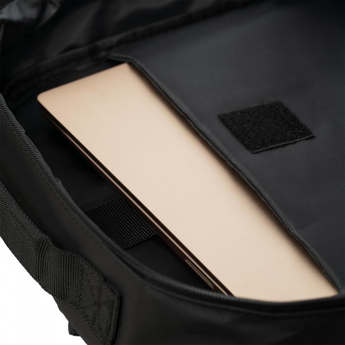 """Rucsac laptop TORRENT, 15.8"""", negru, rezistent la apa, cu compartiment de siguranta [2]"""