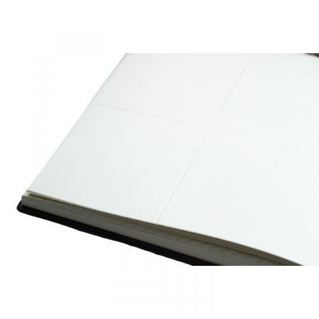 Agenda A5 ASH neagra, 96 de pagini cu coperta din piele ecologica [6]