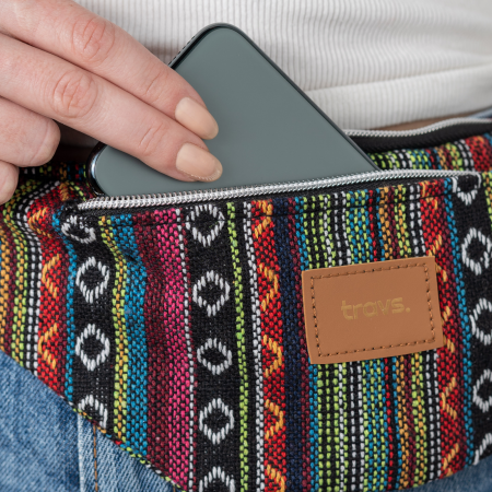 Borseta AMED colorata din material textil cu doua buzunare [2]