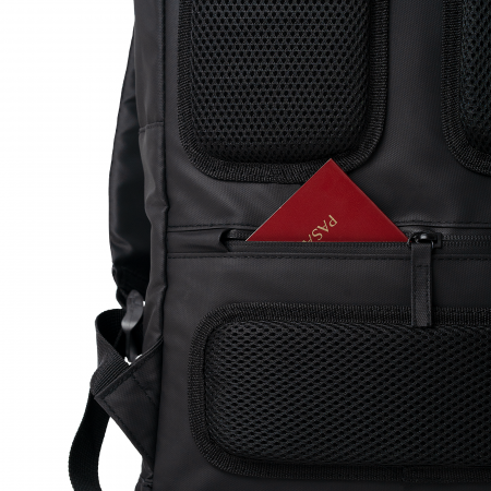 """Rucsac laptop TORRENT, 15.8"""", negru, rezistent la apa, cu compartiment de siguranta [3]"""