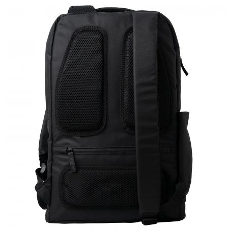 """Rucsac laptop TORRENT, 15.8"""", negru, rezistent la apa, cu compartiment de siguranta [1]"""