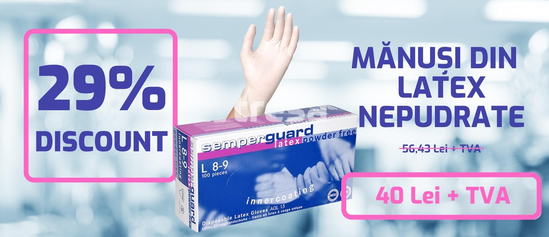 Promo Manus Latex Nepudrat