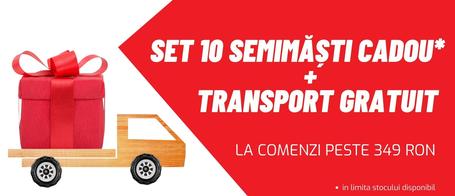 Semimasti + Transport Gratuit