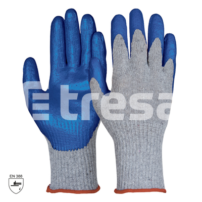 PROGRIP, Manusi de protectie din fibre mixte, cu imersie de cauciuc nitrilic [0]