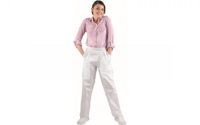 APUS LADY, pantaloni albi de dama 0