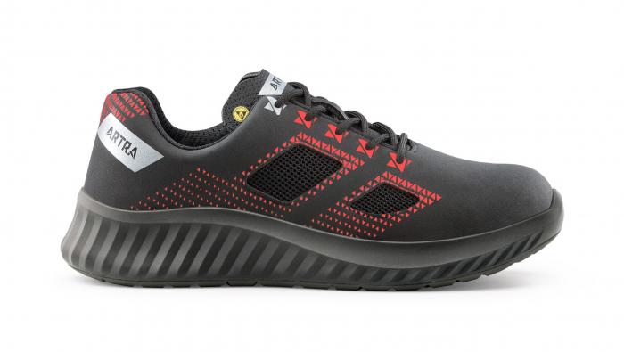 ARCASIO 732 613060 S1 P SRC ESD, Pantofi de protectie cu bombeu din otel, lamela antiperforatie, talpa SRC, protectie descarcari electrostatice ESD [0]