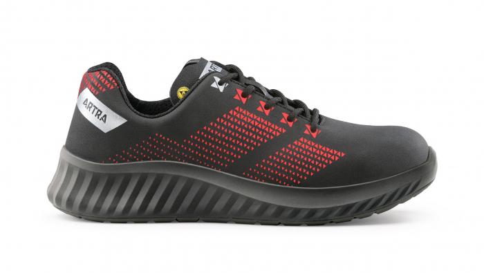 AROSIO 730 613060 S3 SRC ESD, Pantofi de protectie cu bombeu din otel, lamela antiperforatie, fete hidrofobizate, talpa SRC, protectie descarcari electrostatice ESD [0]