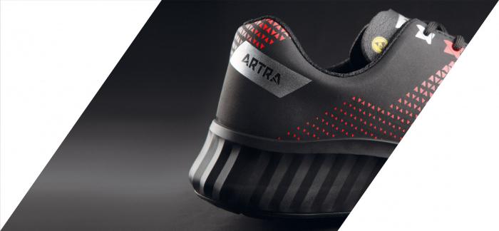 AROSIO 730 613060 S3 SRC ESD, Pantofi de protectie cu bombeu din otel, lamela antiperforatie, fete hidrofobizate, talpa SRC, protectie descarcari electrostatice ESD [4]