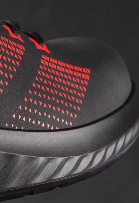 AROSIO 730 613060 S3 SRC ESD, Pantofi de protectie cu bombeu din otel, lamela antiperforatie, fete hidrofobizate, talpa SRC, protectie descarcari electrostatice ESD [1]