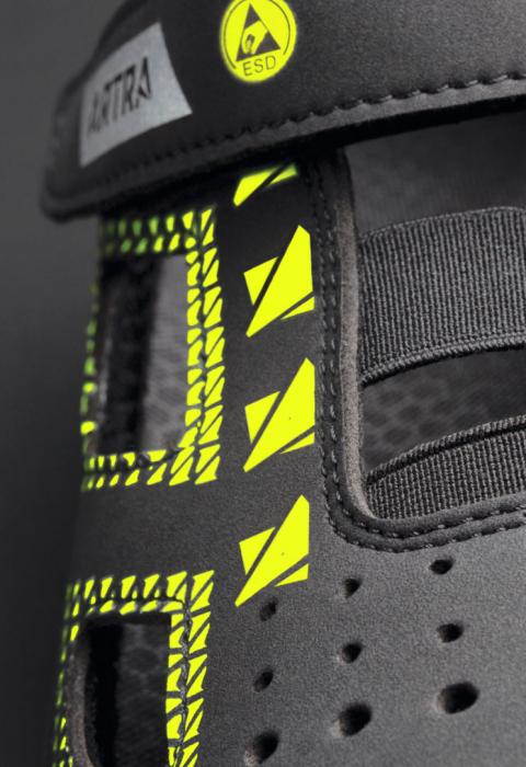 ARSO 701 618060 S1 P SRC ESD, Sandale de protectie cu bombeu din otel si lamela antiperforatie, talpa SRC, protectie descarcari electrostatice ESD [2]
