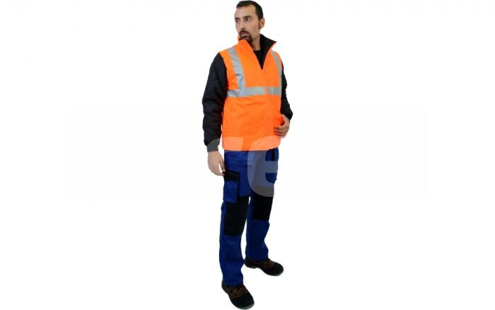 BIROAD, jacheta de iarna reflectorizanta, 3 in 1 10